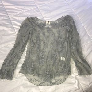 Beautiful Anthropologie Everleigh lace top
